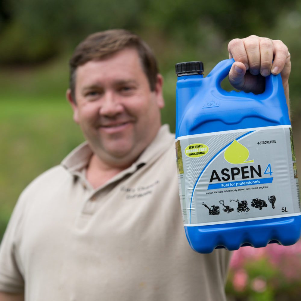 Working with Aspen Fuel: Gary Chapman Gardening Services